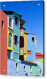 Caminitas La Boca District, Buenos Acrylic Print by Brand X Pictures