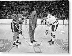 Campbell Conference V Wales Conference Acrylic Print by Denis Brodeur