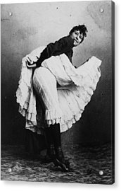 Can-can Dancer Acrylic Print by Hulton Archive