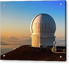 Canada-france-hawaii Telescope Acrylic Print