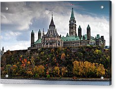 Canadian Parliament Buildings Acrylic Print