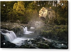Cenarth Falls At Sunrise Acrylic Print