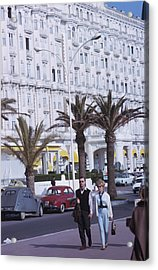 Cannes Acrylic Print by Slim Aarons