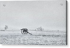 Cannon Out In The Field Acrylic Print