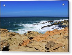 Acrylic Print featuring the photograph Cape Arago Coast 6 by Dawn Richards