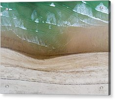 Cape Cod Beach Abstract Acrylic Print