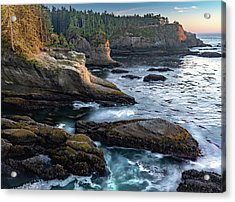 Acrylic Print featuring the photograph Cape Flattery by Ed Clark