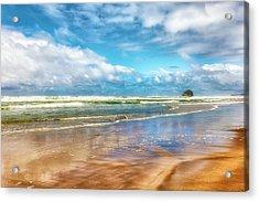 Cape Kiwanda Beach Acrylic Print