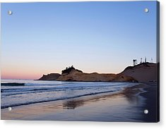 Acrylic Print featuring the photograph Cape Kiwanda Oregon Sunrise 101618 by Rospotte Photography