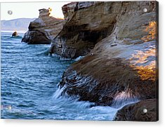 Acrylic Print featuring the photograph Cape Kiwanda Pacific City Oregon 101818 by Rospotte Photography