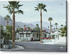 Capotes House Acrylic Print by Slim Aarons