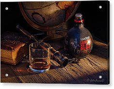 Captain Morgan Acrylic Print