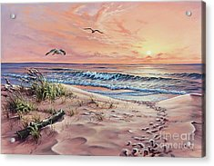 Captured In The Morning Light Acrylic Print