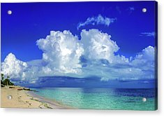 Caribbean Clouds Acrylic Print