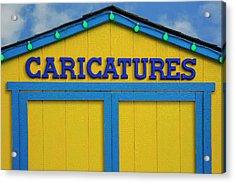 Caricatures Acrylic Print