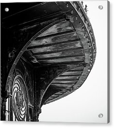Carousel House Detail Acrylic Print