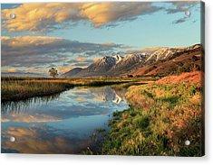 Carson Valley Sunrise Acrylic Print