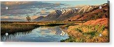 Carson Valley Sunrise Panorama Acrylic Print