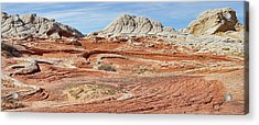 Carved In Stone Pano 2 Acrylic Print