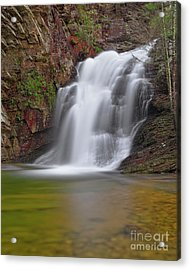 Acrylic Print featuring the photograph Cascade 1 by Patrick M Lynch