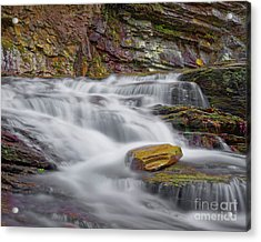 Acrylic Print featuring the photograph Cascade 2 by Patrick M Lynch