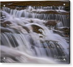 Acrylic Print featuring the photograph Cascade 5 by Patrick M Lynch