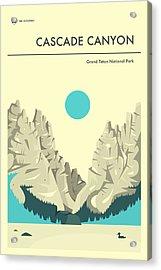 Cascade Canyon 1 Acrylic Print