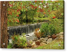Acrylic Print featuring the photograph Cass Dam by Debbie Stahre