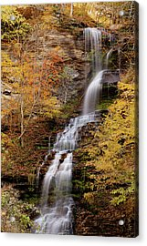 Acrylic Print featuring the photograph Cathedral Falls by Pete Federico