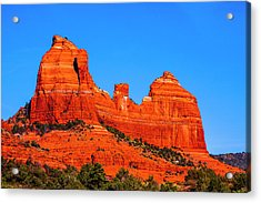 Cathedral Rock Acrylic Print by Fernando Margolles