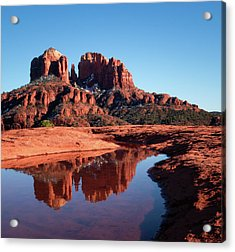 Cathedral Rock Reflection II Acrylic Print