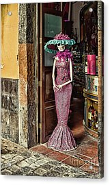 Acrylic Print featuring the photograph Catrina Welcomes You by Tatiana Travelways