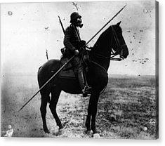 Cavalryman Acrylic Print by Topical Press Agency