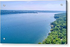 Cayuga From Above Acrylic Print