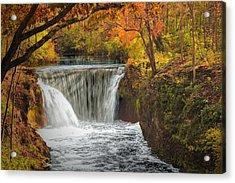 Cedarville Falls Acrylic Print