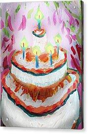 Celebration Cake Acrylic Print