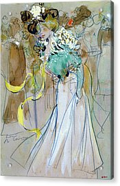 Celebrations In Toulon - Digital Remastered Edition Acrylic Print