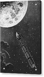 Celestial Travel Acrylic Print by Hulton Archive