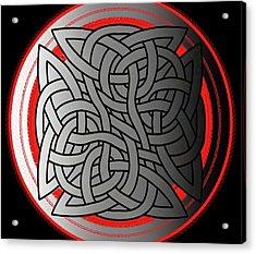Celtic Shield Knot 4 Acrylic Print