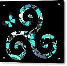 Celtic Spiral 3 Acrylic Print