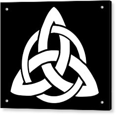 Celtic Triquetra Or Trinity Knot Symbol 5 Acrylic Print