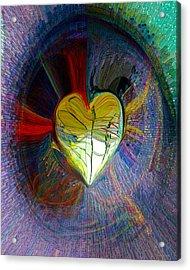 Center Of The Heart Acrylic Print