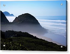 Acrylic Print featuring the photograph Central Oregon Coast 101718 by Rospotte Photography