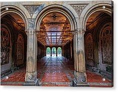 Central Parks Hidden Secret Acrylic Print by T-S Fine Art Landscape Photography
