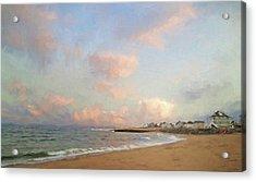 Cezanne Sunset Acrylic Print