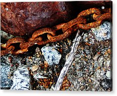 Chained To The Past 2 Acrylic Print
