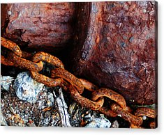Chained To The Past Acrylic Print
