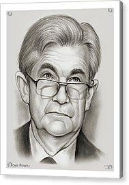 Chairman Powell Acrylic Print