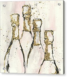Champagne Is Grand II Acrylic Print by Chris Paschke