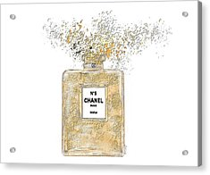 Chanel Explosion Acrylic Print